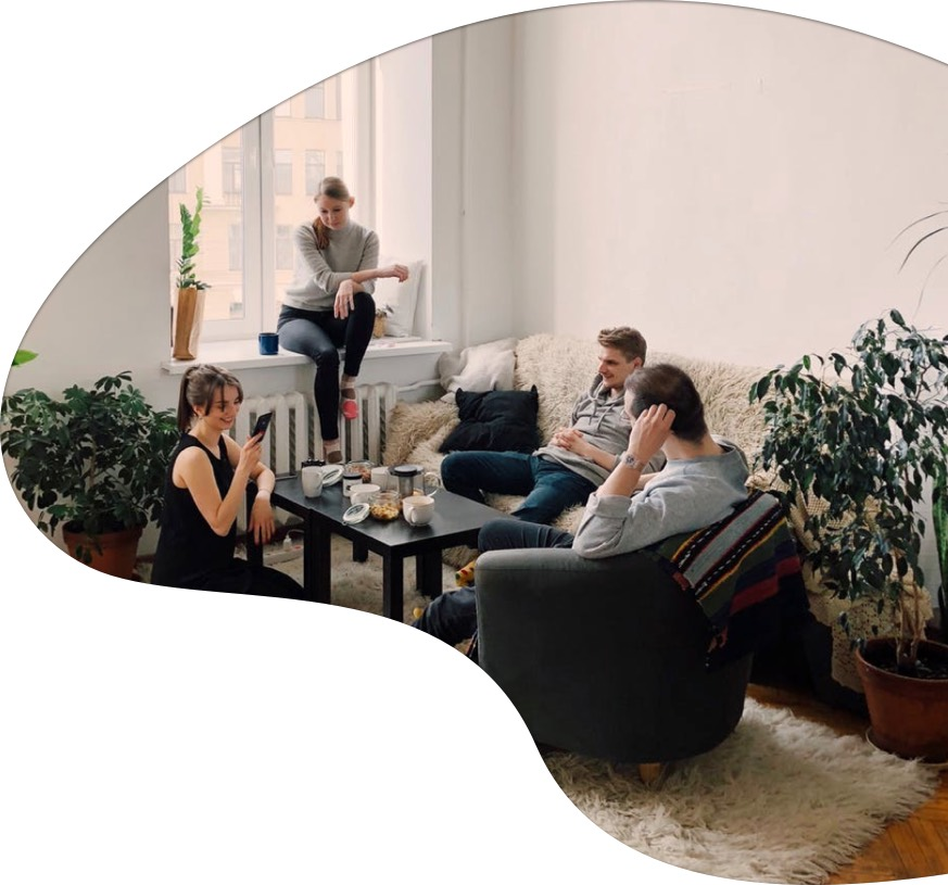 Coliving people